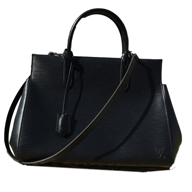 184ee2d2471 Dilly Dally Design & Consign Authentic Louis Vuitton Black Epi Bag ...